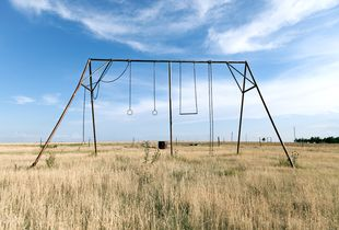Randall County TX Abandoned Playground