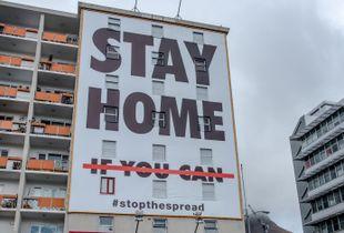 CV19:  STAY HOME