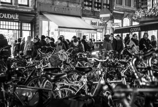Busy Bruges (Belgium)