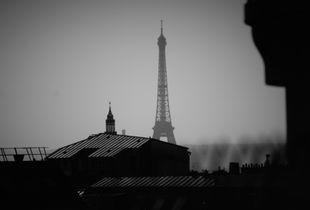 Paris over the roof
