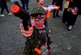 'Zombie got a Gun'