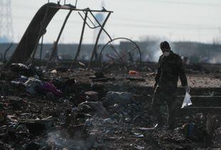 Ukrainian airliner crashes after take-off