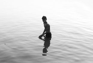 Boy in the Ganges