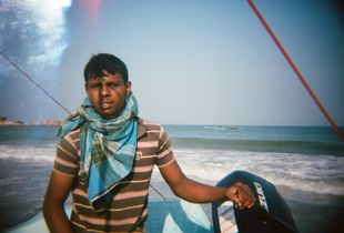 Young seafarer