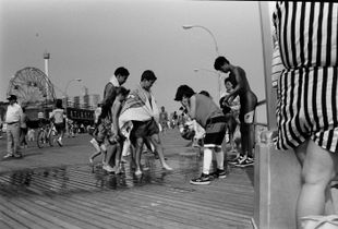 Summer day at Coney Island