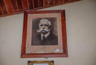 Old portrait of Nicolas Suarez, Alcaldia of Cachuela Esperanza