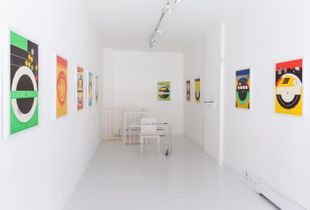 Average Subject / Medium Distance (Installation view)
