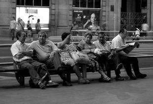Gran vía de Madrid. 2007.