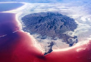 'Red Pain,Urmia Lake'