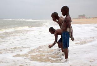 Trio of the Wild Coast, Pointe-Noire 2012 © Caroline Blache