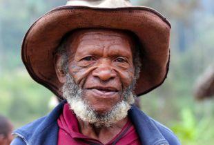 Simbai village elder
