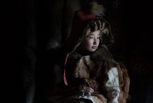 Eagle Hunter's Daughter - Western Mongolia.