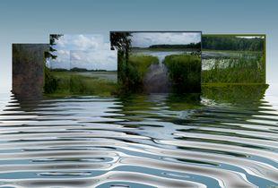 Waterway Corridor—The  River Project: Origins, Movement, Confluence