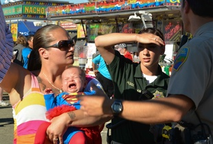 Marin County Fair, CA. July 2014.