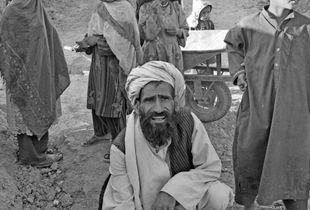 Afghan faces V