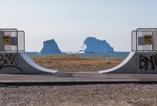 Iceberg series - Human Landscape 1