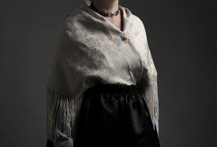A series of portraits of  Dutch (Scheveningen) ladies in traditional dress (1)