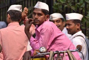 dabbawallah in Bombay