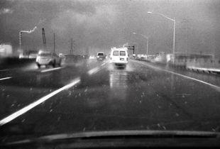 New Jersey Turnpike North: Sudden Summer Solstice Hailstorm