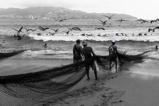 Fishing in Acapulco