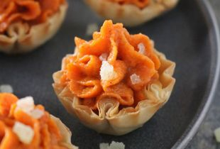 Carrot Ginger Cups