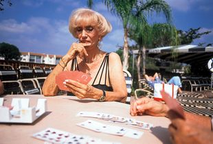 Sylvia with Cards