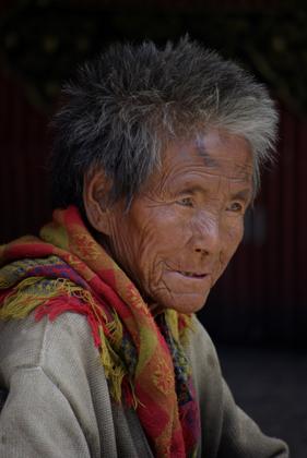 Tibet Portrait