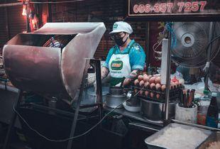 Woman market vendor