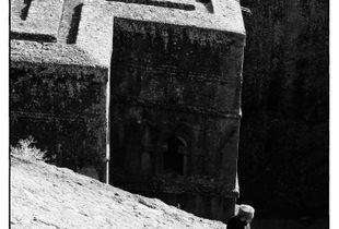 Lalibela, Ethiopia - St Georges Church