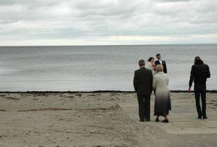 estonia - matrimonio in spiaggia