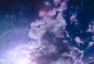 Helix Nebula Lunar Alignment