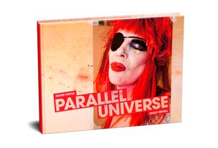 'David Hoyle: Parallel Universe' A photo-book by Holly Revell