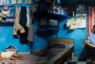 Santosh Lohar home, Mumbai, from The Places We Live (Aperture, 2008) © Jonas Bendiksen/Magnum Photos