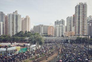 Yuen Long Retaliation Protest