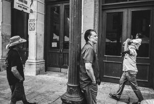 Men on Sixth St.