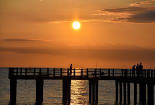 The Fishermen at Sunrise
