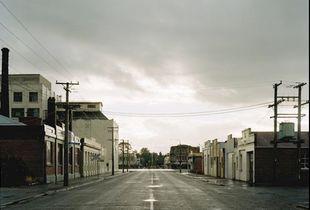 Mersey Street, Gore, Southland, 7:05pm, 19th February, 2004. © Derek Henderson