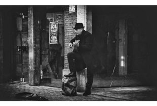 when music fills the silence of the street