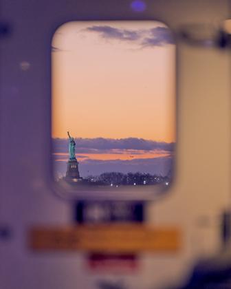 Sunset Ferry NY