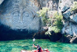Taupo Maori Carving