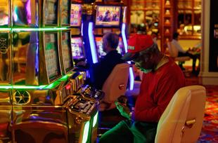 Player in Las Vegas