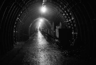 Old mine corridor