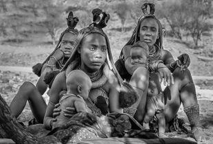 Himba Women and Children