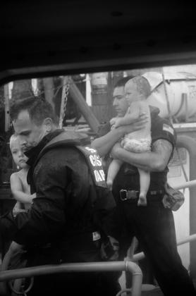 Hurricane Delta Children Rescue