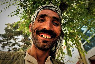 The fruit seller in Kabul