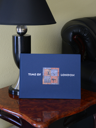 """""""Time of London"""" artist book, edition of 15"""