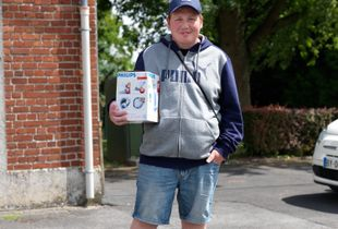 Beuavois en Cis_ Johan - With his Philips clear water filter, he paid € 7,50
