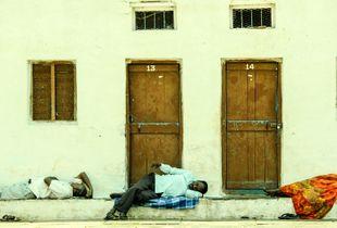 Pilgrims' Afternoon Nap