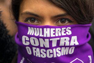 #EleNão - Brazilian Women against Fascism.