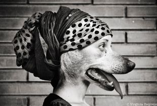 Francesca and her dog Tea